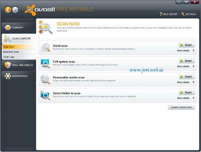 Free Download Avast 5 antivirus