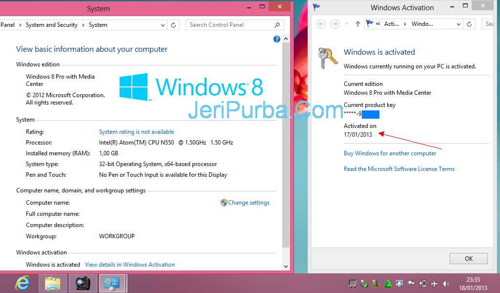 Harga Windows 8.1 -  Windows Blue