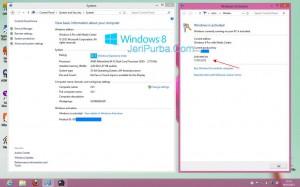 License Key Asli Windows 8 di PC Komputer AMD Athlon
