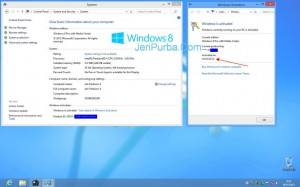 License Key Asli Windows 8 di PC Komputer Intel Pentium 4
