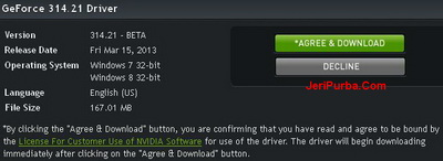NVIDIA Windows 8 Drivers
