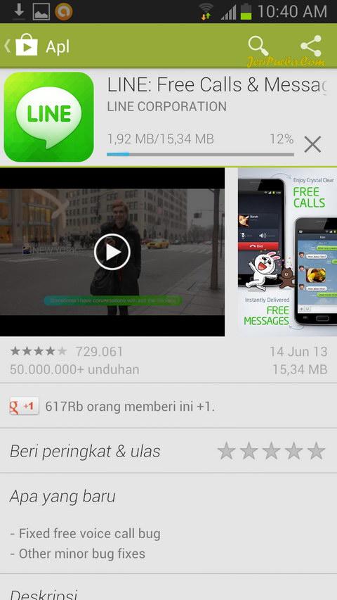 Download Line untuk Android