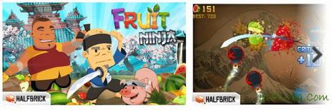 Download Games Fruit Ninja Free untuk Android