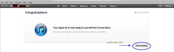 Membuat Apple ID tanpa kartu kredit sukses
