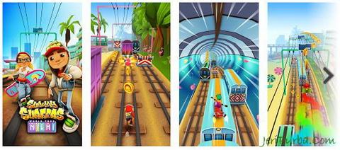 Download games Subway Surfers untuk Android