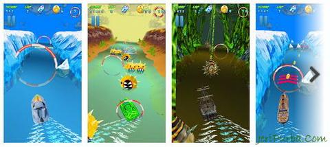 Download Games Turbo River Racing Free untuk Android