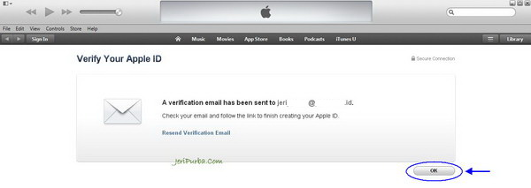 email verifikasi akun Apple ID