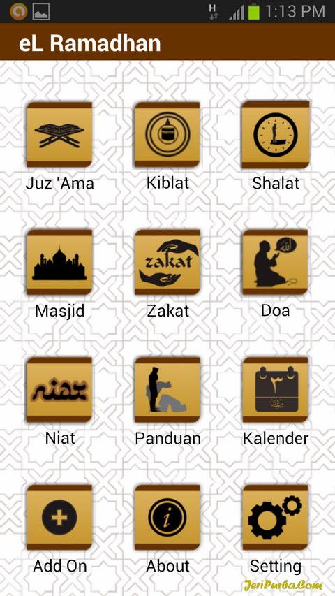Aplikasi Android eL Ramadhan