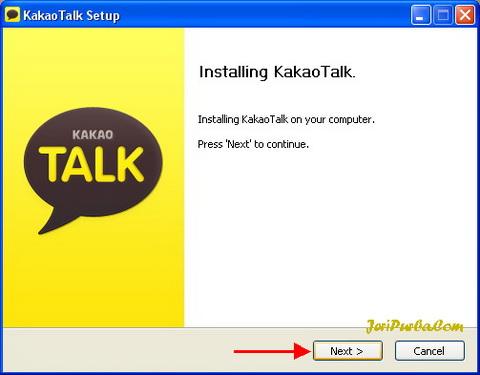 Cara Instal KakaoTalk di PC