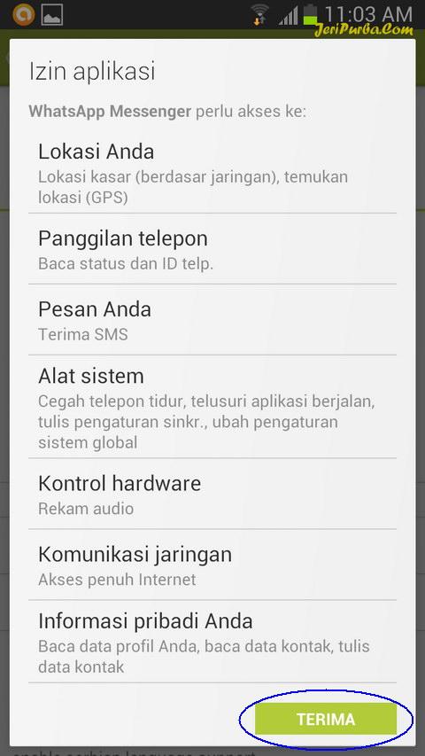 Cara Pasang WhatsApp di Android