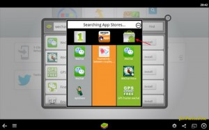 Download Aplikasi Wechat di BlueStacks melalui Android App Stores