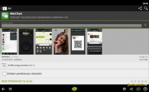 Proses Download WeChat untuk Komputer