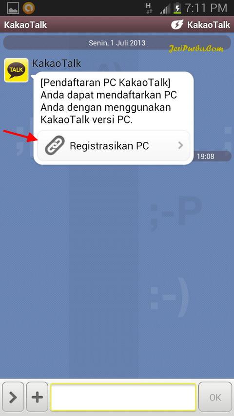 Proses Pendaftaran KakaoTalk Untuk Laptop