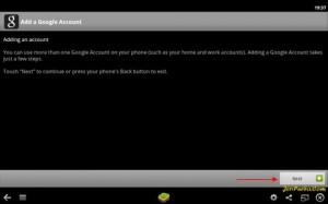 Proses ke App Strore dengan Google Akun