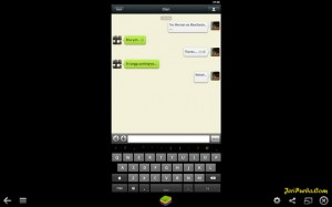 Test menjalankan WeChat di PC melalui BlueStacks