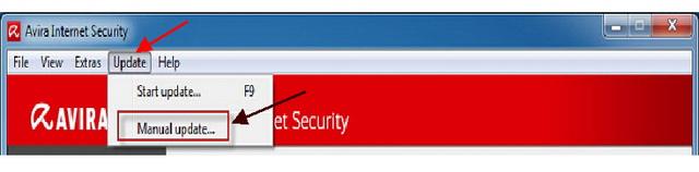Update Databases Avira Antivirus Offline