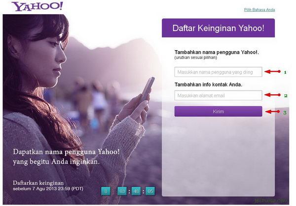 Yahoo! Wish List Email Yahoo