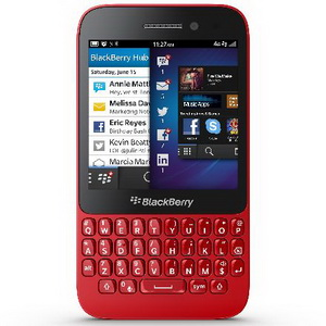 BlackBerry Q5 Warna Merah