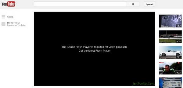Video di Video Youtube Tidak Bisa Tampil