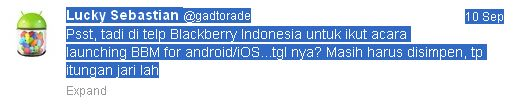 Launching BlackBerry Messenger untuk Android dan iOS di Indonesia