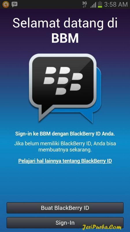 Gambar Tampilan BlackBerry untuk Android APK