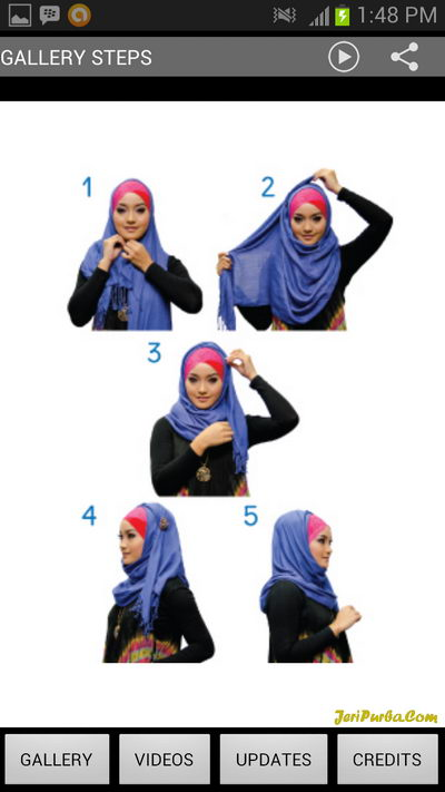 All About Hijab to a party View Steps