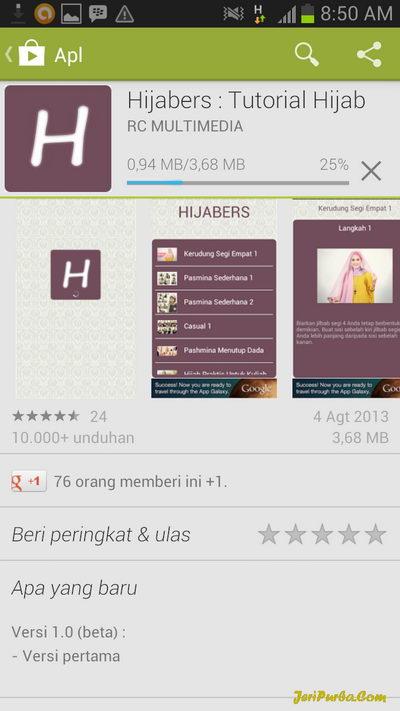 Download Aplikasi Hijabers Tutorial Hijab