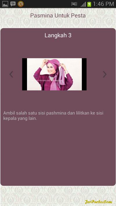 Cara Memakai Hijab Pashmina Untuk Ke Pesta 3