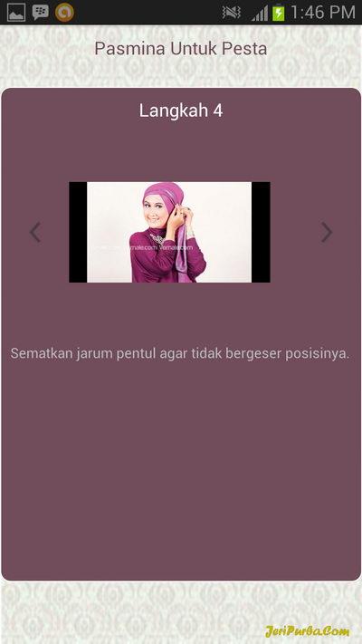 Cara Memakai Hijab Pashmina Untuk Ke Pesta 4