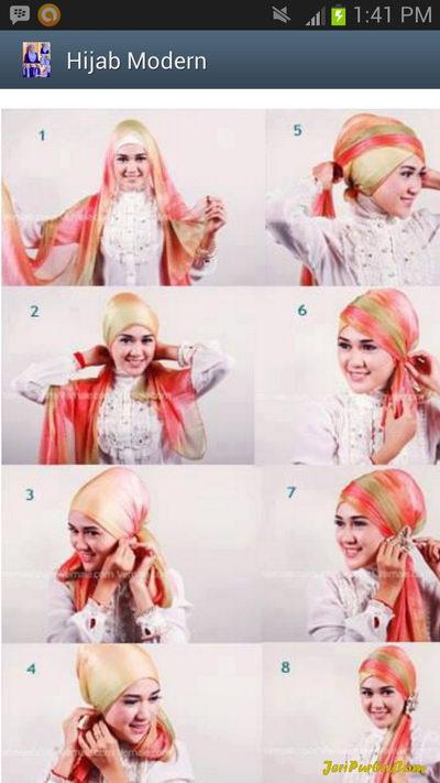 Cara Memakai Jilbab Zoya Noura | Cara Memakai Hijab