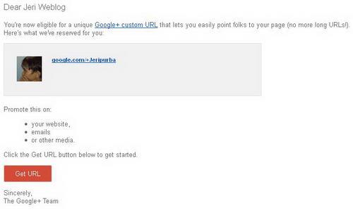 Cara Mengubah url Singkat Google+