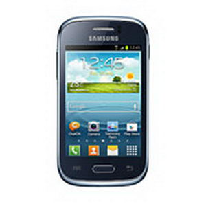 Samsung Galaxy Young Warna Biru