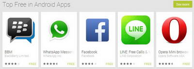 TOP Free Aplikasi Android Oktober 2013