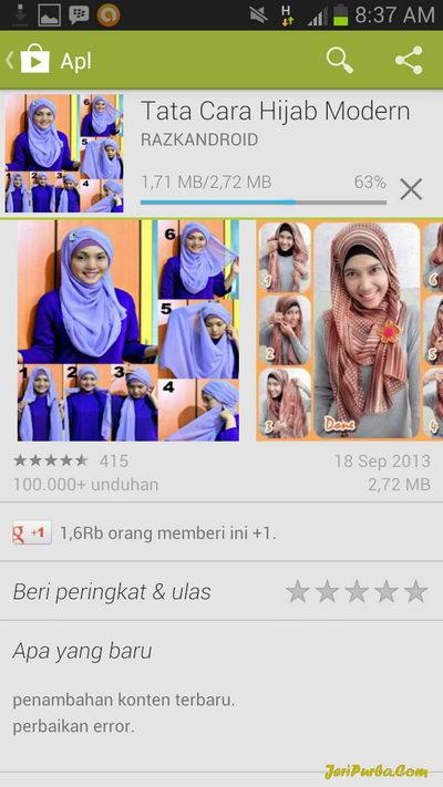 Download Aplikasi Tata Cara Hijab Modern