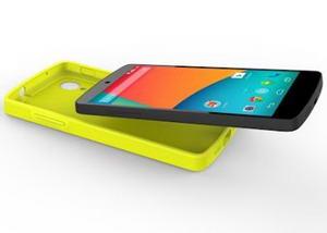 Bumper Case untuk Nexus 5 Warna Kuning