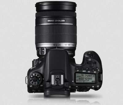 Gambar Kamera Canon 70D Tampak Atas