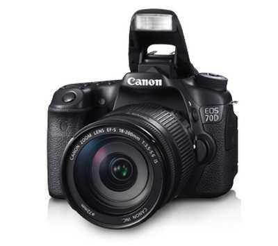 Gambar Kamera Canon 70D Tampak Depan