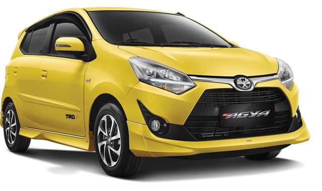 Harga Toyota Agya Terbaru 2019