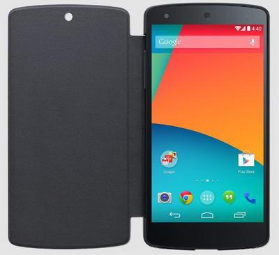 Quick Cover Untuk Google Nexus 5 Warna Hitam