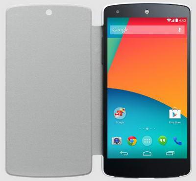 Quick Cover Untuk Google Nexus 5 Warna Putih