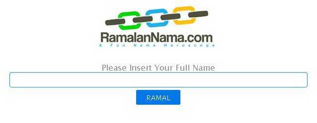 RamalanNama.com Di Tahun 2013
