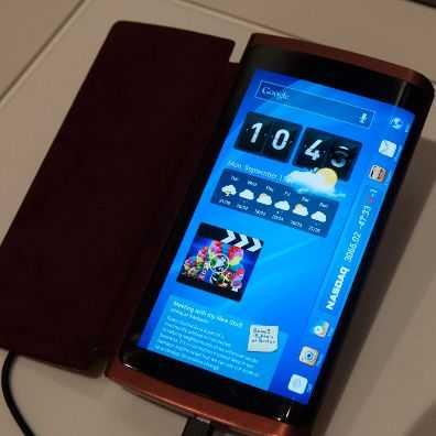 Smartphone Samsung Terbaru Dengan Layar Sampul Tiga Sisi