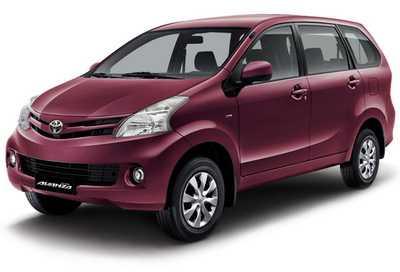 Toyota Avanza Warna Merah Maroon Mica