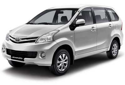 Toyota Avanza Warna Perak Silver Mica Metalic