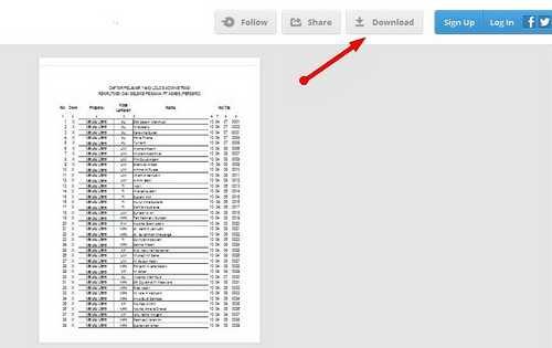 Download Pengumuman Peserta Yang Lulus Tes Administrasi PT. Askes 2013