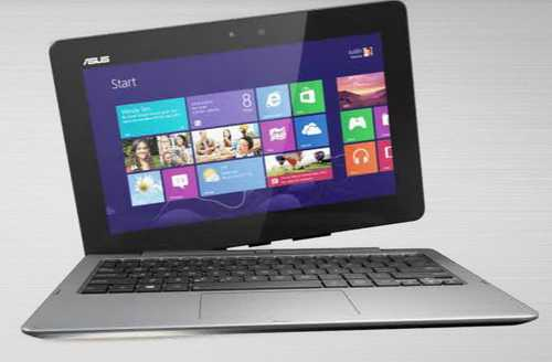 Fungsi ASUS Transformer Book Trio Sebagai Laptop Dengan OS WIndows 8