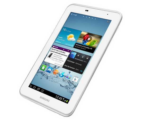 Spesifikasi dan Harga Samsung Galaxy Tab2 7.0 WiFi GT-P3110