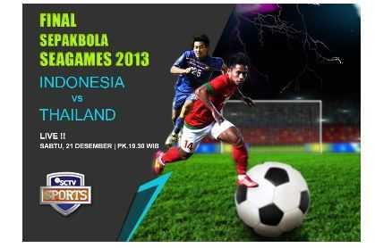 Jadwal Final Indonesia VS Thailand di SCTV