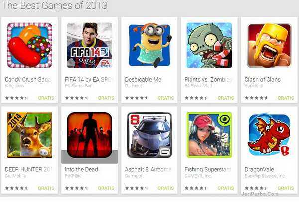 The Best Games of 2013 - Android
