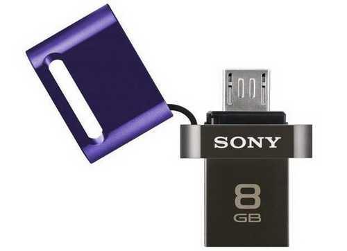 micro usb flash drive Sony untuk hp android